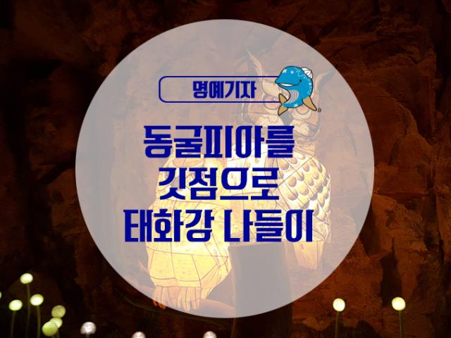 [명예기자] 동굴피아를 깃점으로 태화강 나들이